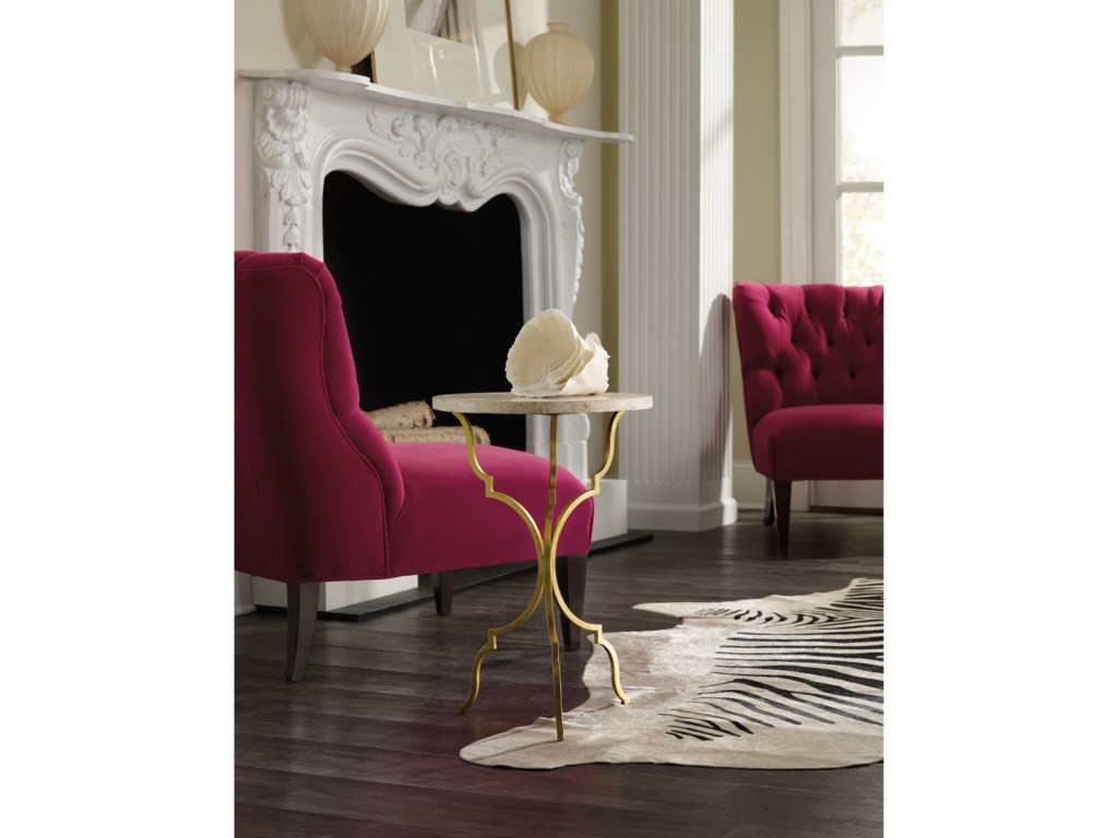 Hooker Furniture Living Room AccentsRound Martini Table