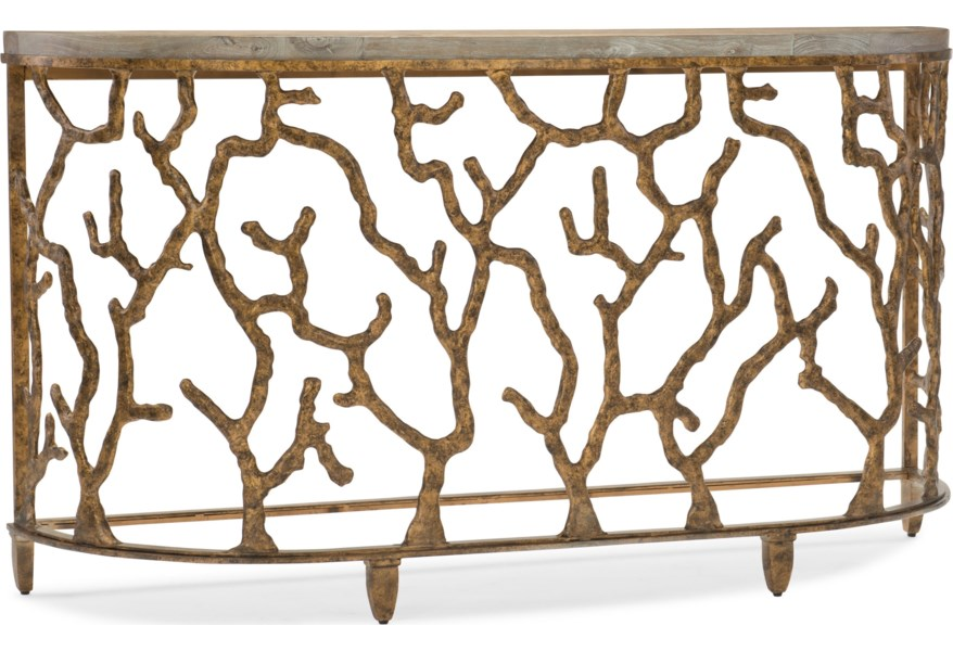 Living Room Accents Demilune Console Table With C Design By Furniture At Dunk Bright