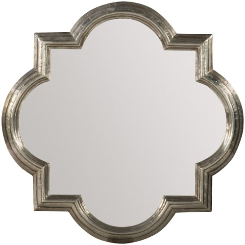 Hooker Furniture Living Room Accents German Silver Mirror