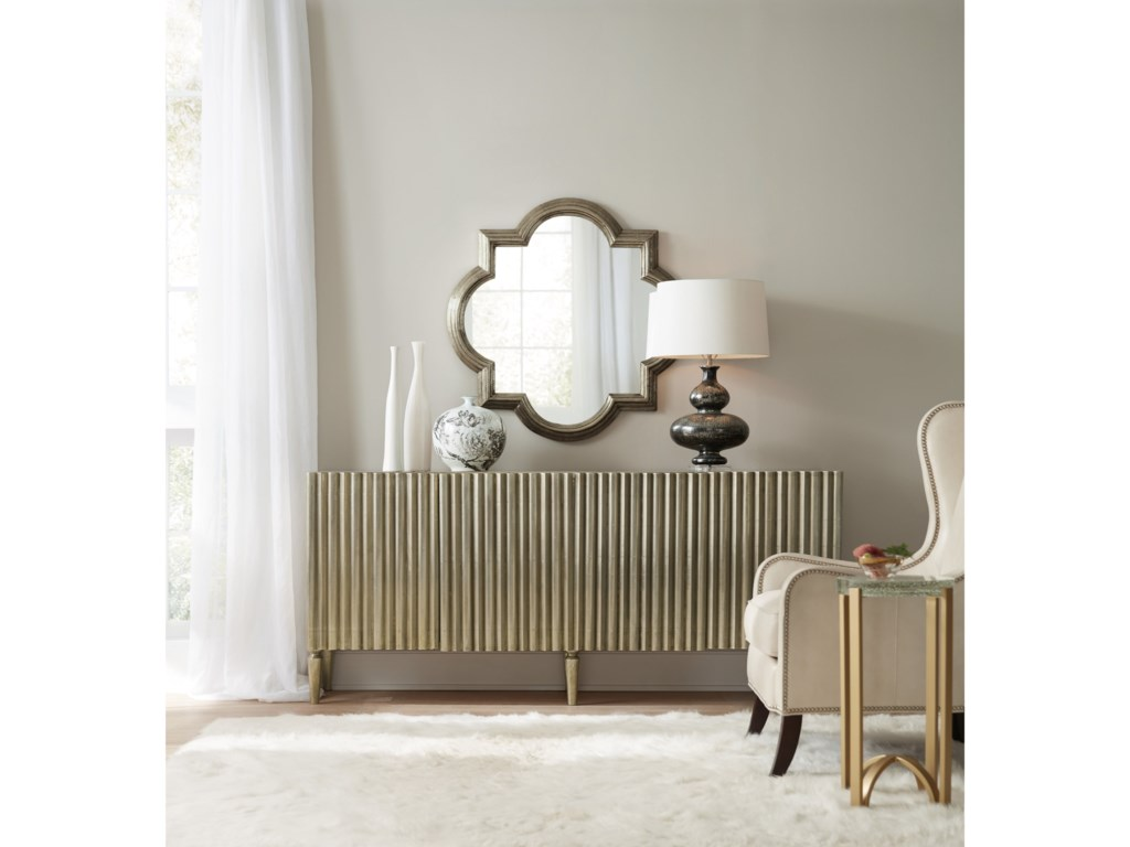Hooker Furniture Living Room AccentsGerman Silver Console
