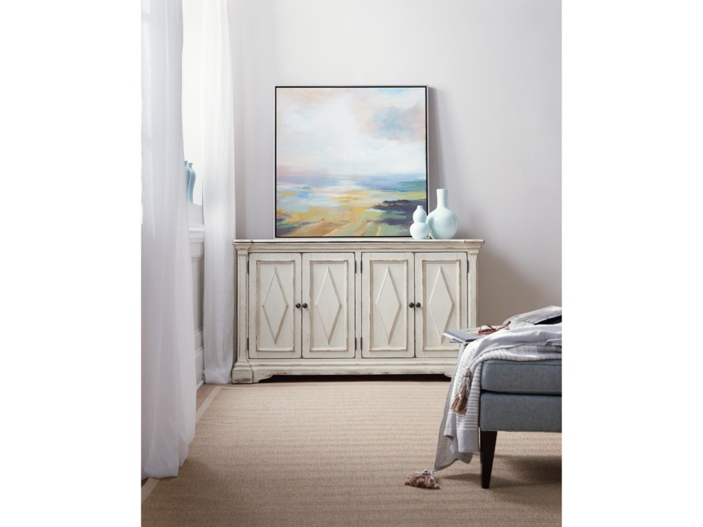 Hooker Furniture Living Room AccentsFour-Door Cabinet