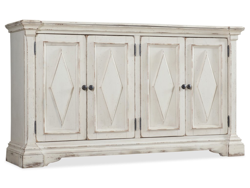 Hooker Furniture Living Room AccentsFour-Door Cabinet