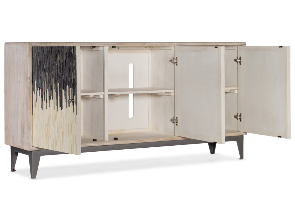 Hooker Furniture Living Room AccentsThree Door Console