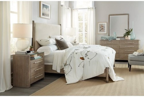 Hooker Furniture Affinity Queen Bedroom Group