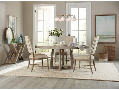 Hooker Furniture Affinity 5 Pc Dining Set with Removable Leaf
