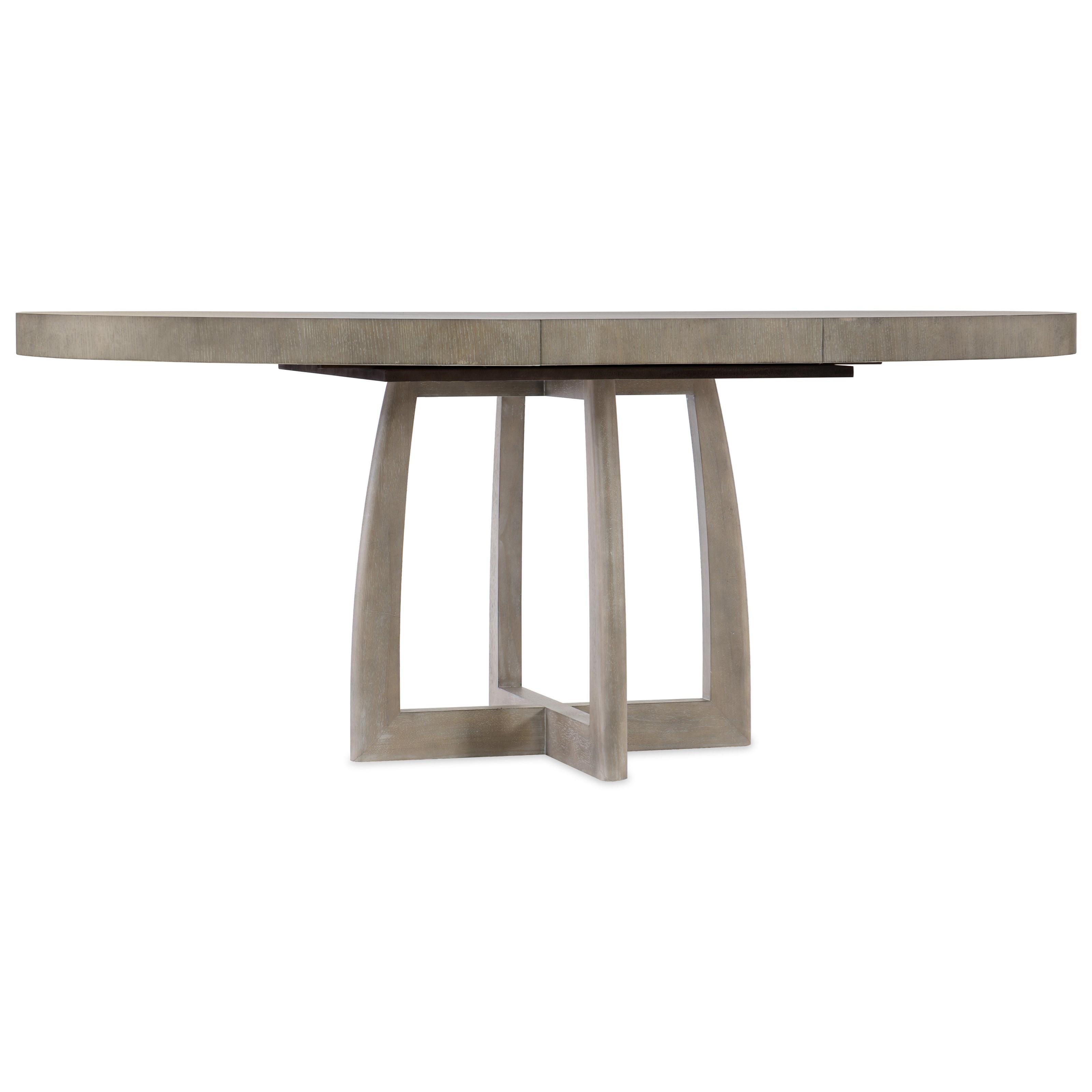 Hooker Furniture AffinityRound Pedestal Dining Table ...