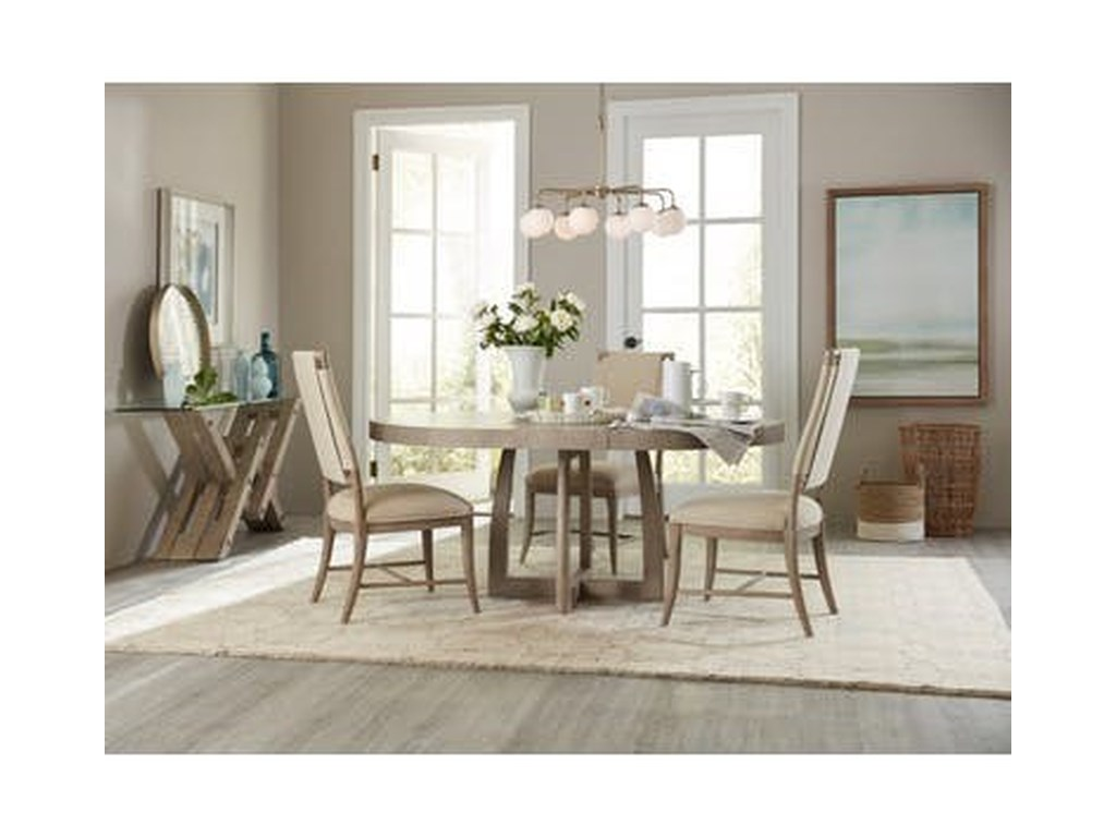 Hooker Furniture AffinityRound Pedestal Dining Table