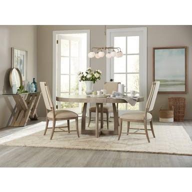 ... Hooker Furniture AffinityRound Pedestal Dining Table ...