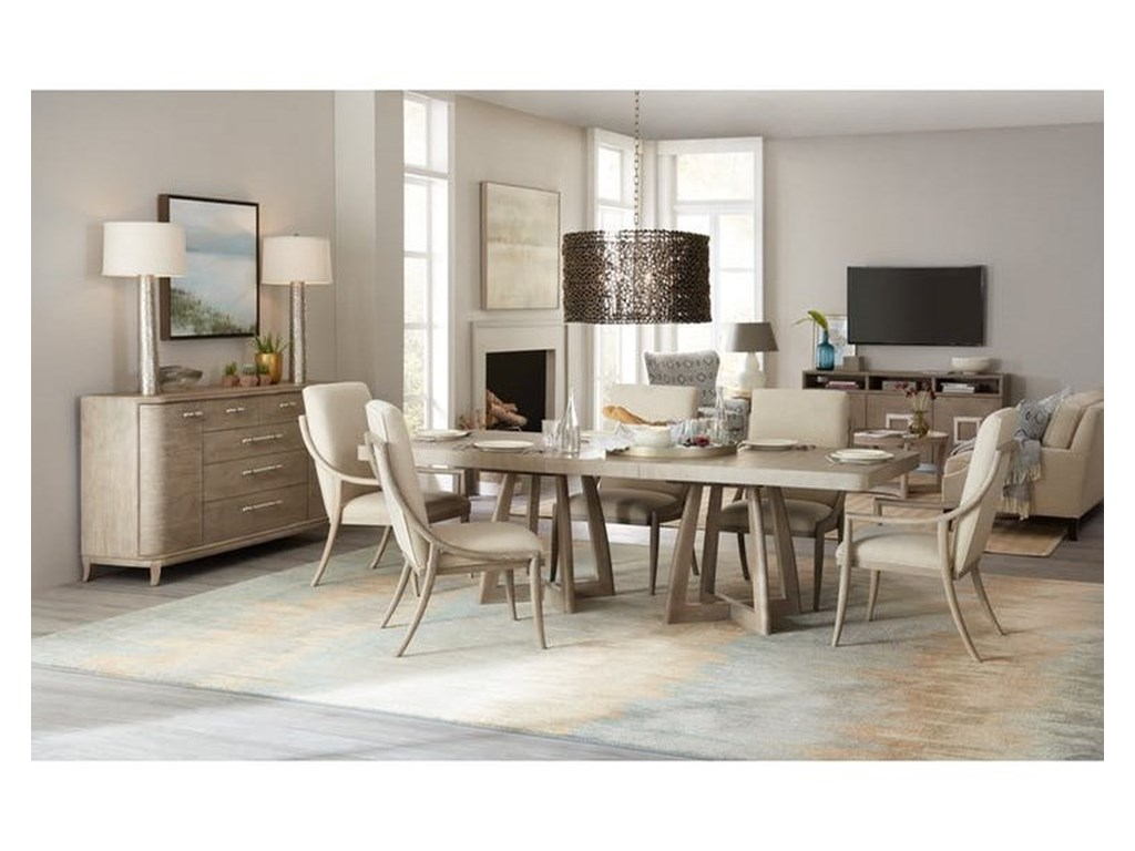Hooker Furniture Affinity7 Pc Dining Set