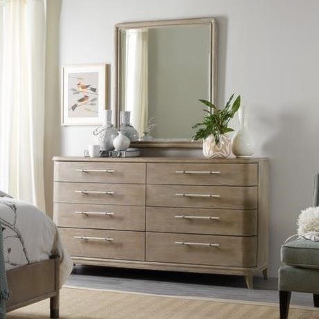 Hooker Furniture AffinityDresser and Mirror Set