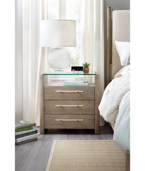 Hooker Furniture Affinity 3 Drawer Nightstand