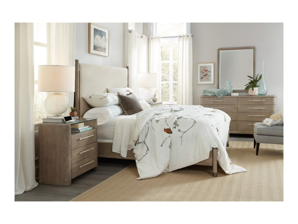 Hooker Furniture AffinityQueen Upholstered Bed