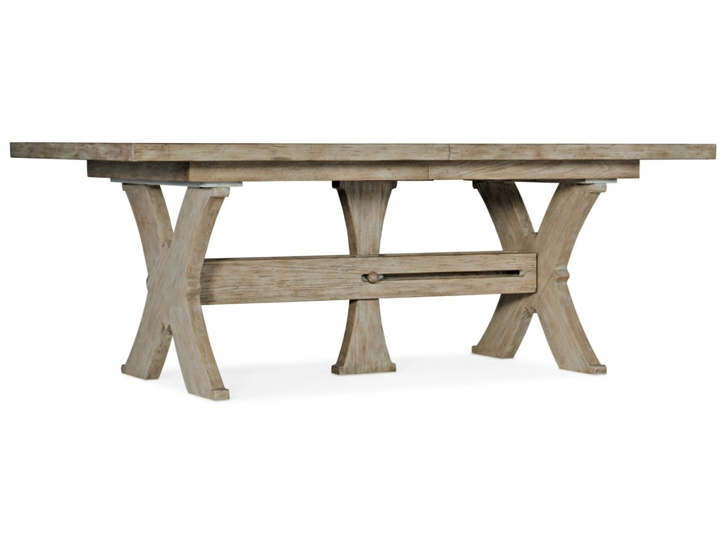 Hooker Furniture AlfrescoVittorio 80in Rectangle Dining Table