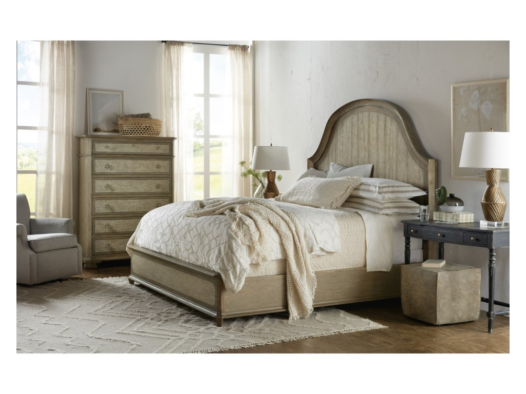 Hooker Furniture AlfrescoLauro Queen Panel Bed