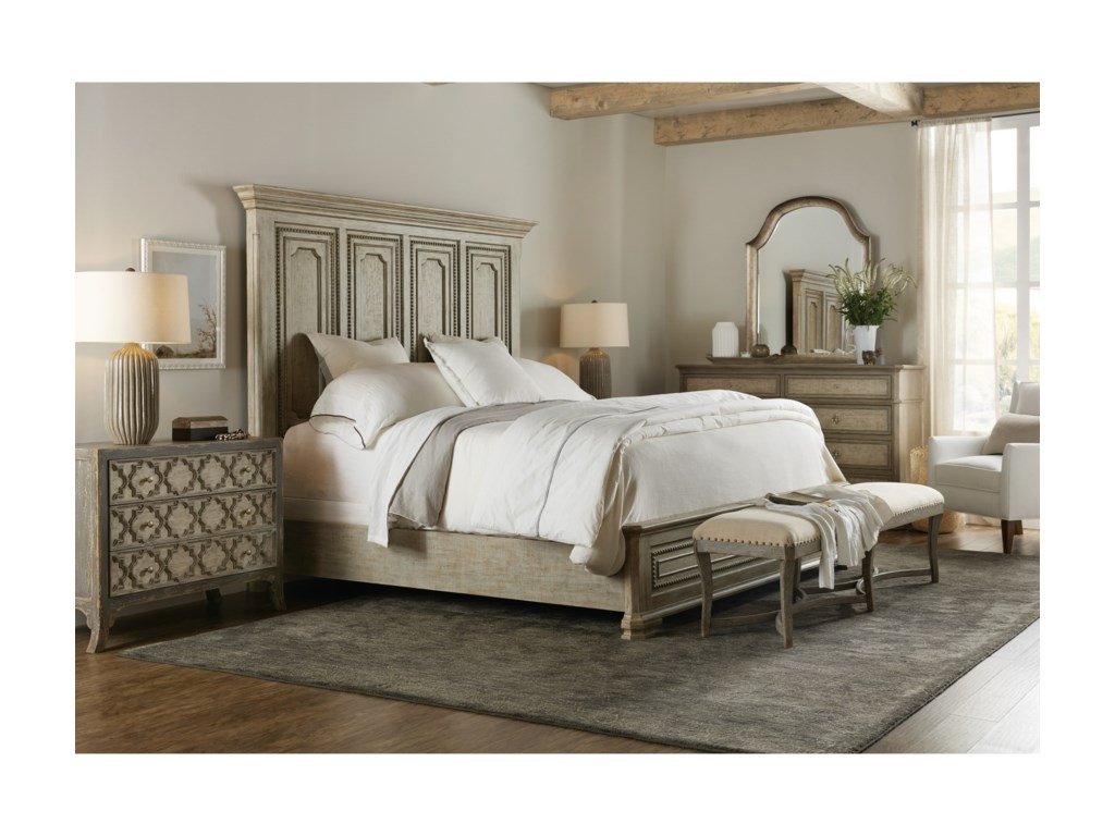Hooker Furniture AlfrescoLeonardo California King Mansion Bed