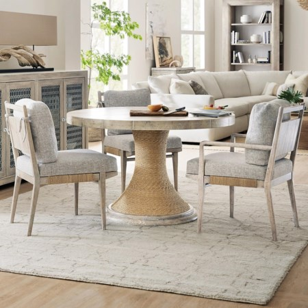4-Piece Table and Chair Set