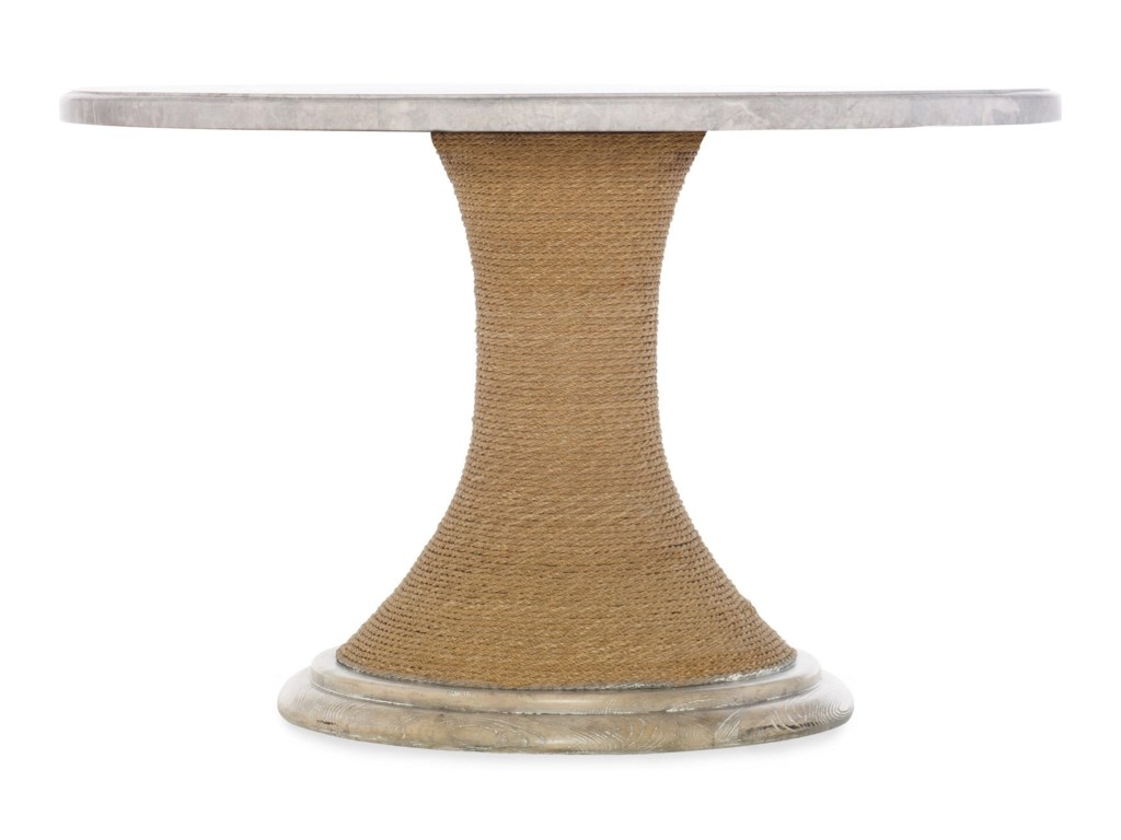 Hooker Furniture American Life-Amani48-inch Round Pedestal Dining Table