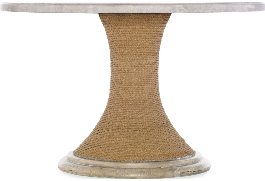 American Life-Amani 48-inch Round Pedestal Dining Table