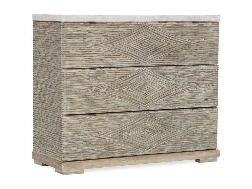 Hooker Furniture American Life-AmaniThree-Drawer Accent Chest