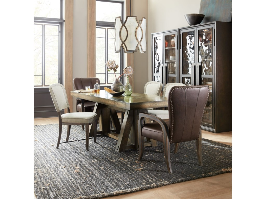 Hooker Furniture American Life-CraftedFormal Dining Room Group