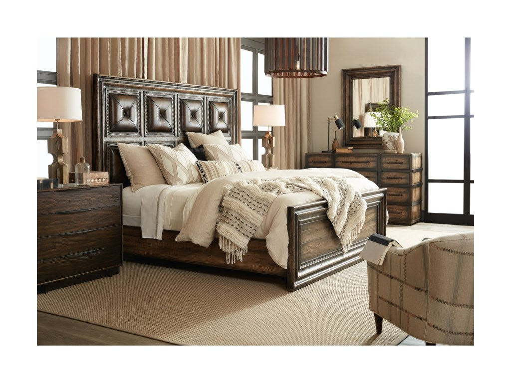 Hooker Furniture American Life-CraftedQueen Bedroom Group