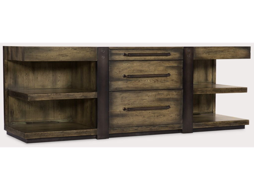 Hooker Furniture American Life-CraftedLeg Desk Credenza