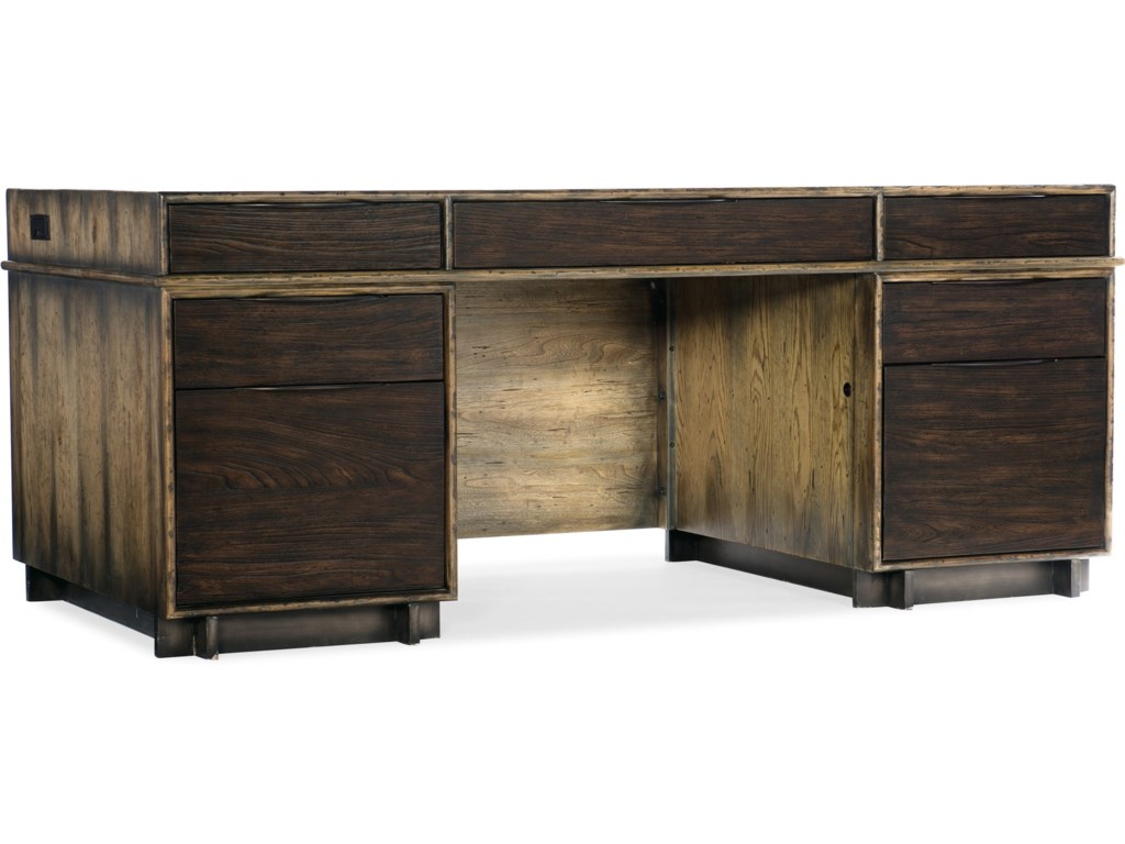 Hooker Furniture American Life-CraftedExecutive Desk