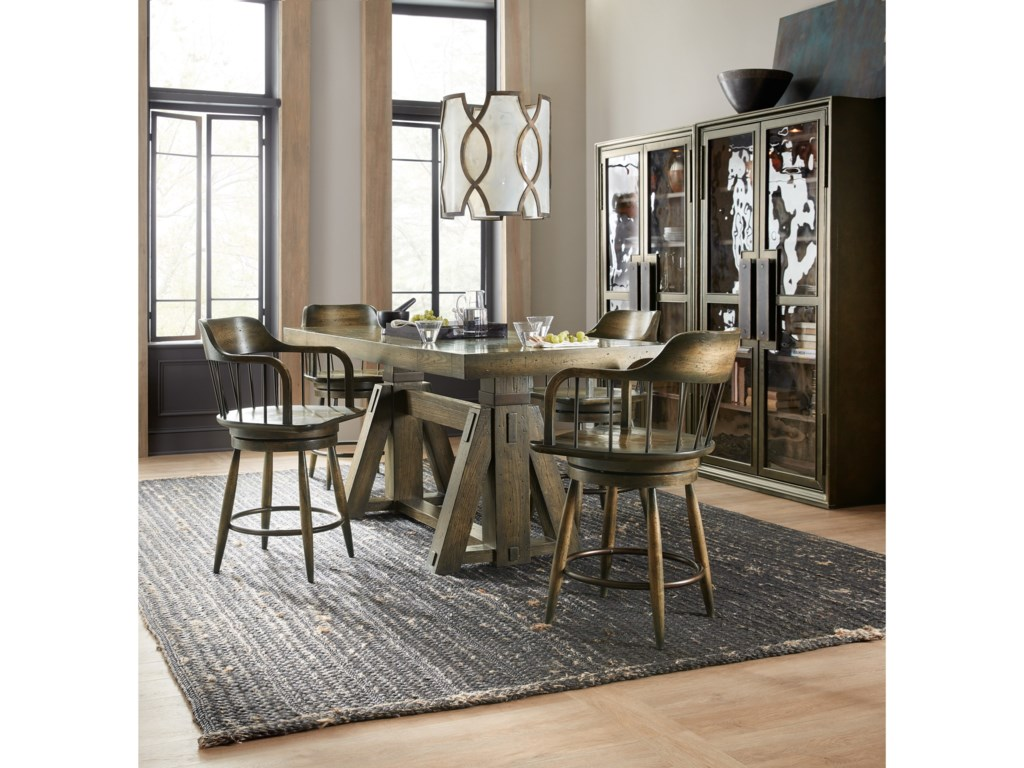Hooker Furniture American Life-CraftedCounter Stool