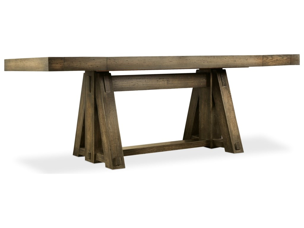 Hooker Furniture American Life-CraftedFriendship Table with Leaves