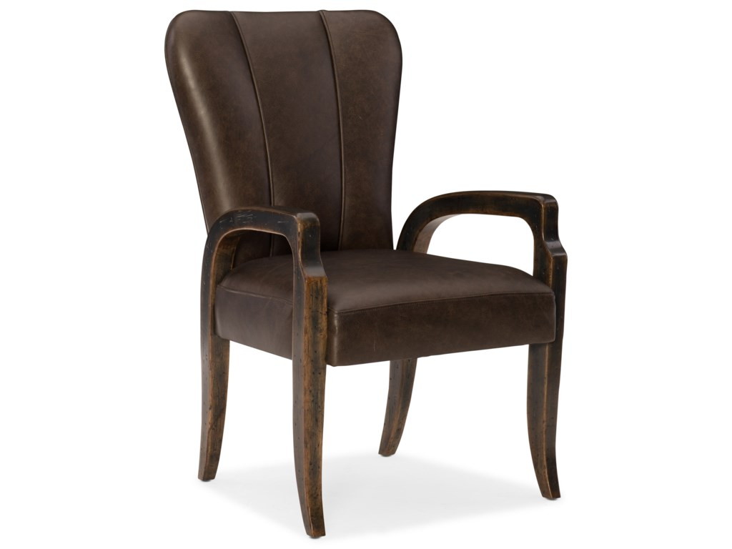 Hooker Furniture American Life-CraftedLeather Arm Chair