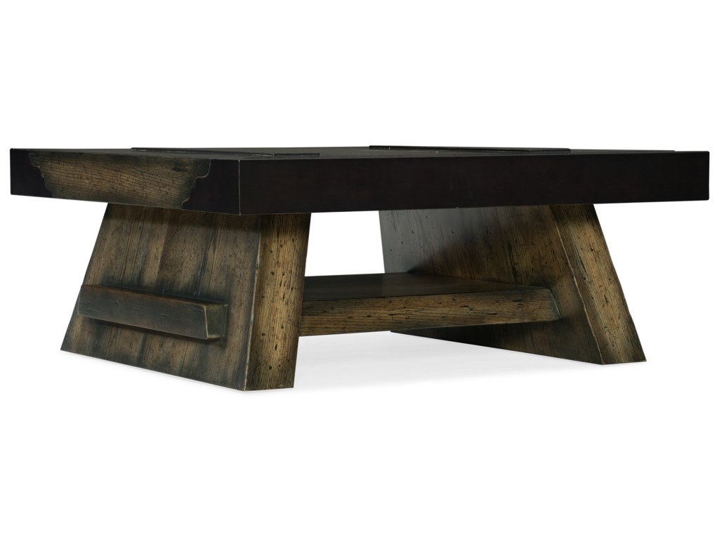 Hooker Furniture American Life-CraftedCocktail Table