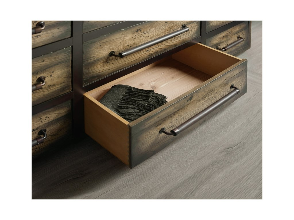 Hooker Furniture American Life-CraftedTwelve-Drawer Dresser
