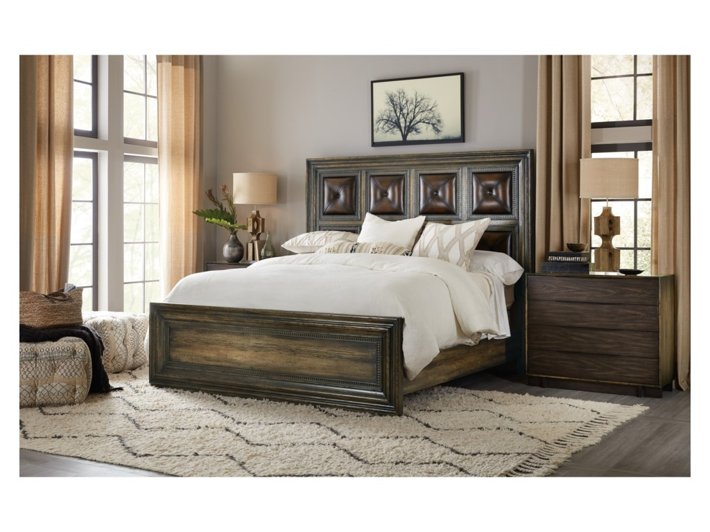 Hooker Furniture American Life-CraftedCalifornia King Panel Bed