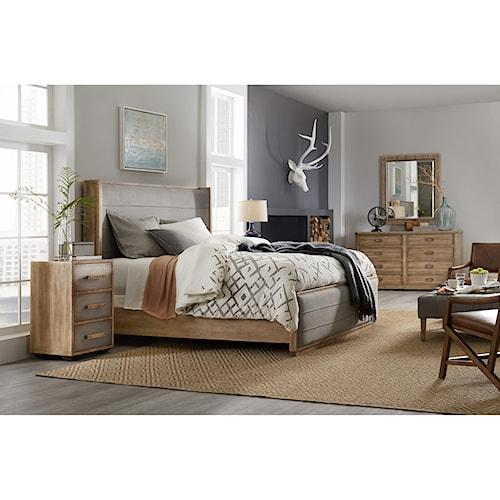 Hooker Furniture American Life-Urban Elevation California King Bedroom Group