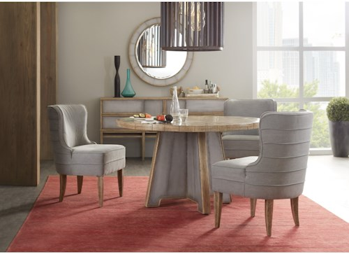 Hooker Furniture American Life-Urban Elevation Casual Dining Room Group