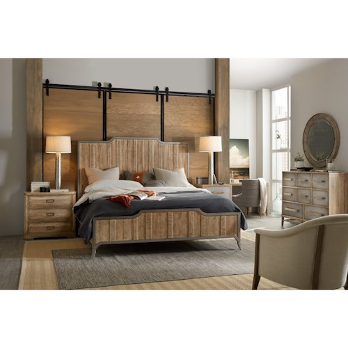 Hooker Furniture American Life-Urban Elevation King Bedroom Group