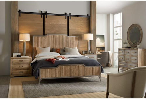 Hooker Furniture American Life-Urban Elevation Queen Bedroom Group