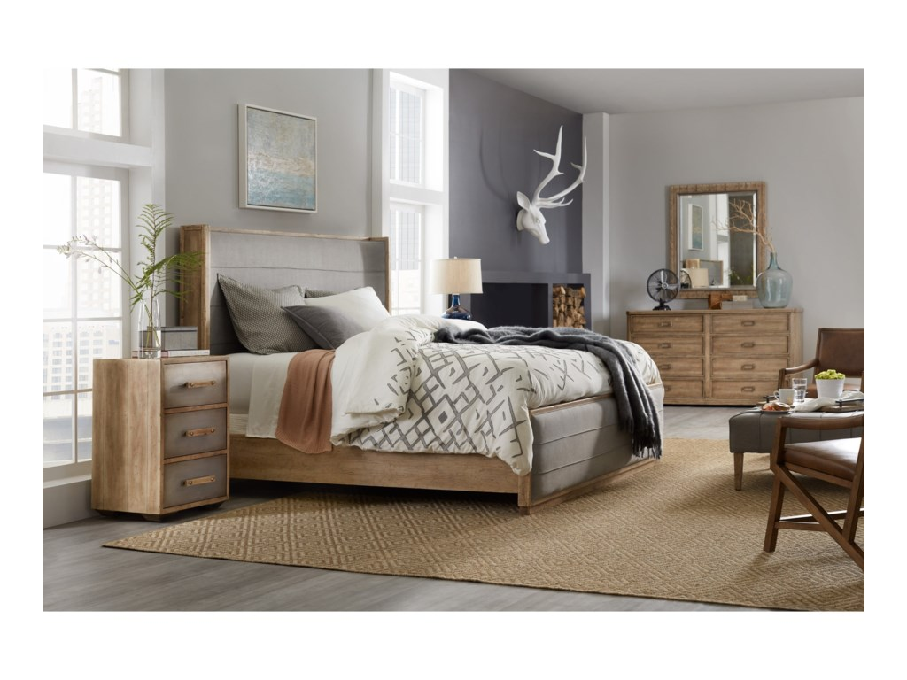 Hooker Furniture American Life-Urban ElevationQueen Bedroom Group