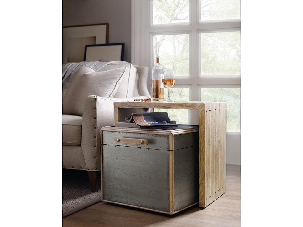 Hooker Furniture American Life-Urban ElevationNesting Storage Table
