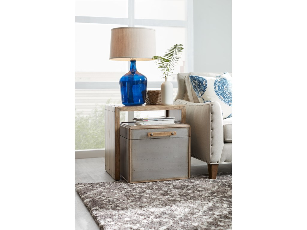 Hooker Furniture American Life-Urban ElevationNesting Storage Table