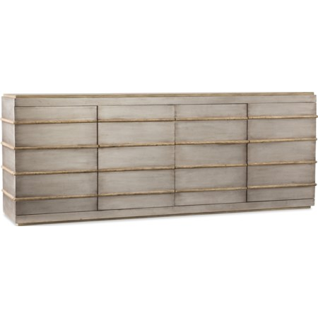 Metal Entertainment Credenza