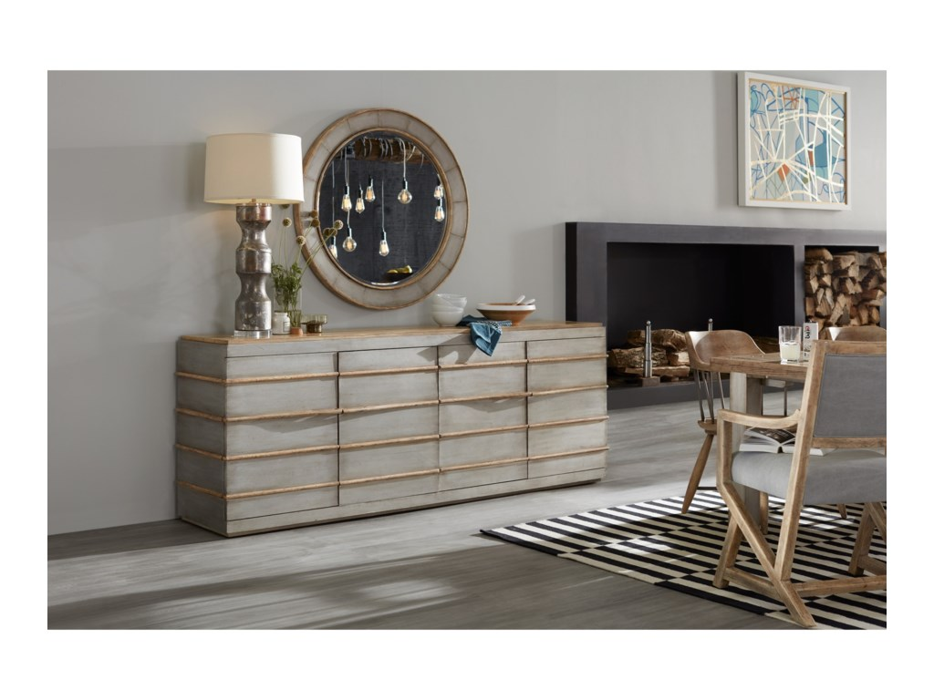 Hooker Furniture American Life-Urban ElevationMetal Entertainment Credenza