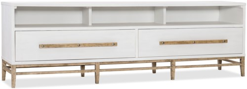 Hooker Furniture American Life-Urban Elevation 2 Drawer Low Entertainment Console