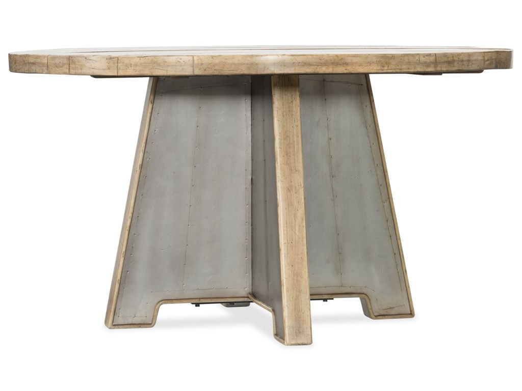 Hooker Furniture American Life-Urban Elevation54in Metal Dining Table