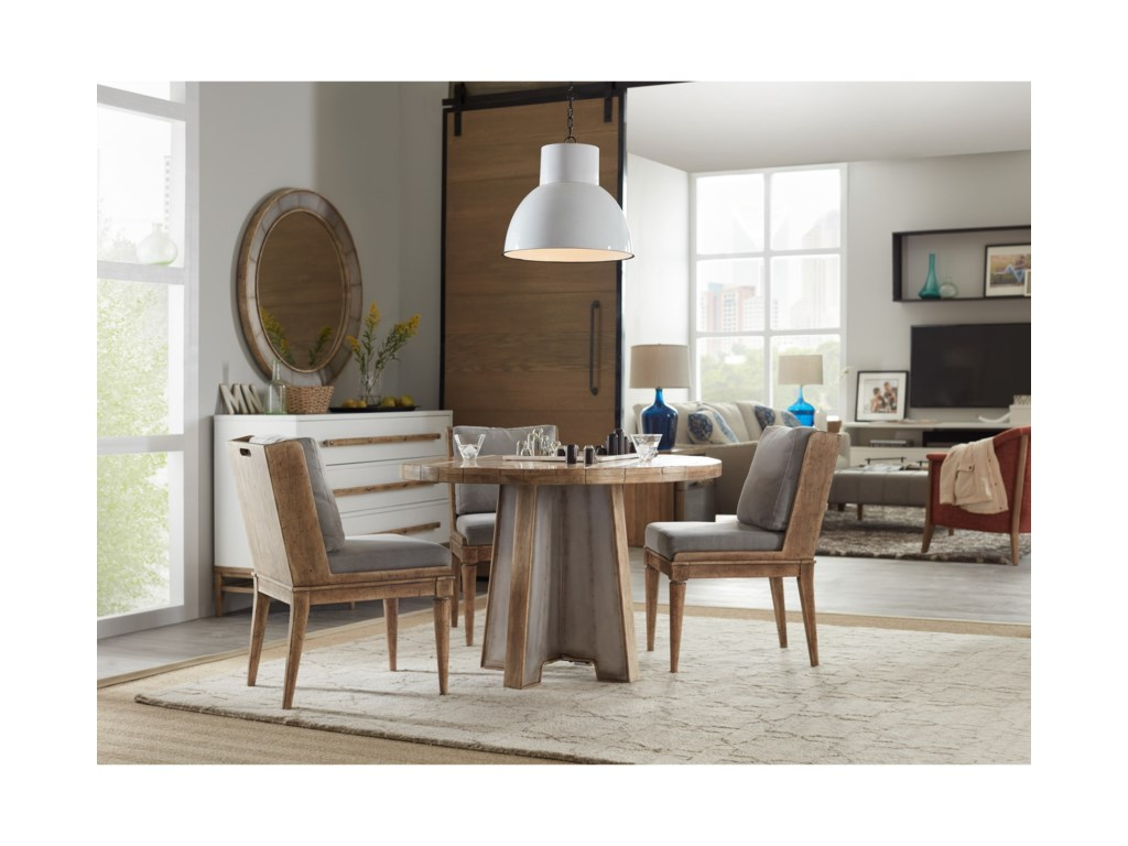 Hooker Furniture American Life-Urban Elevation44in Metal Dining Table