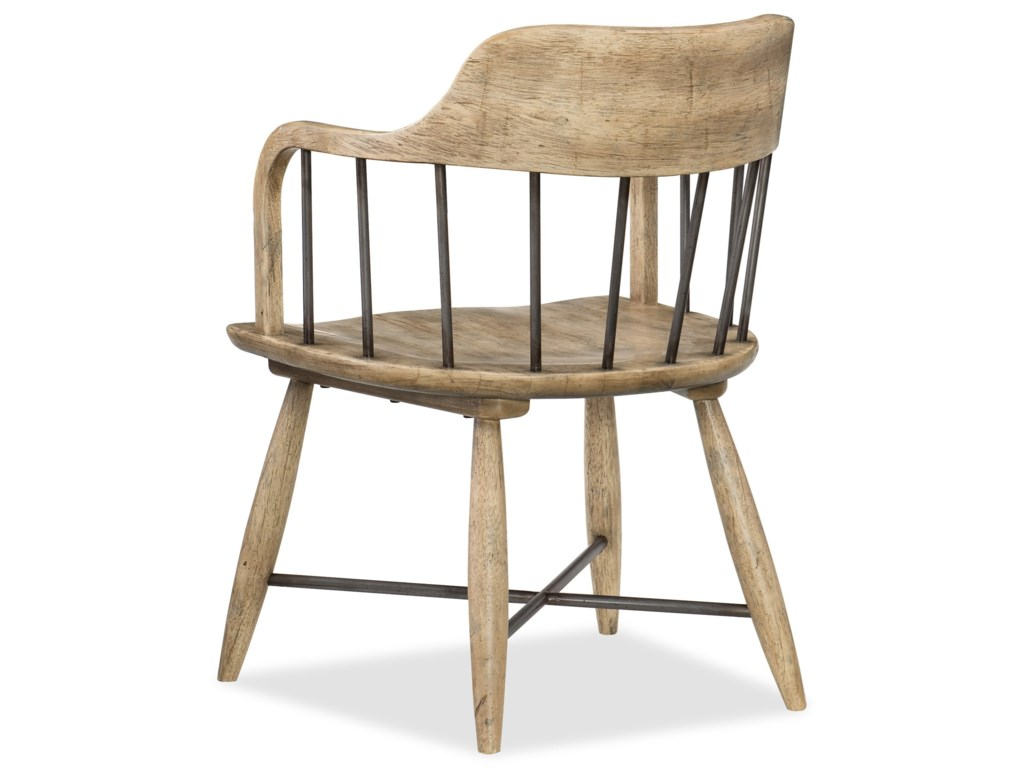 Hooker Furniture American Life-Urban ElevationLow Windsor Arm Chair