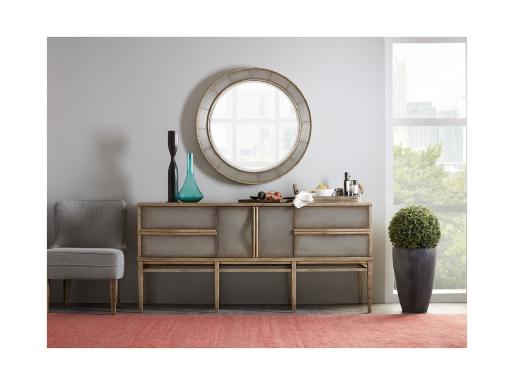 Hooker Furniture American Life-Urban ElevationFour Drawer Sideboard