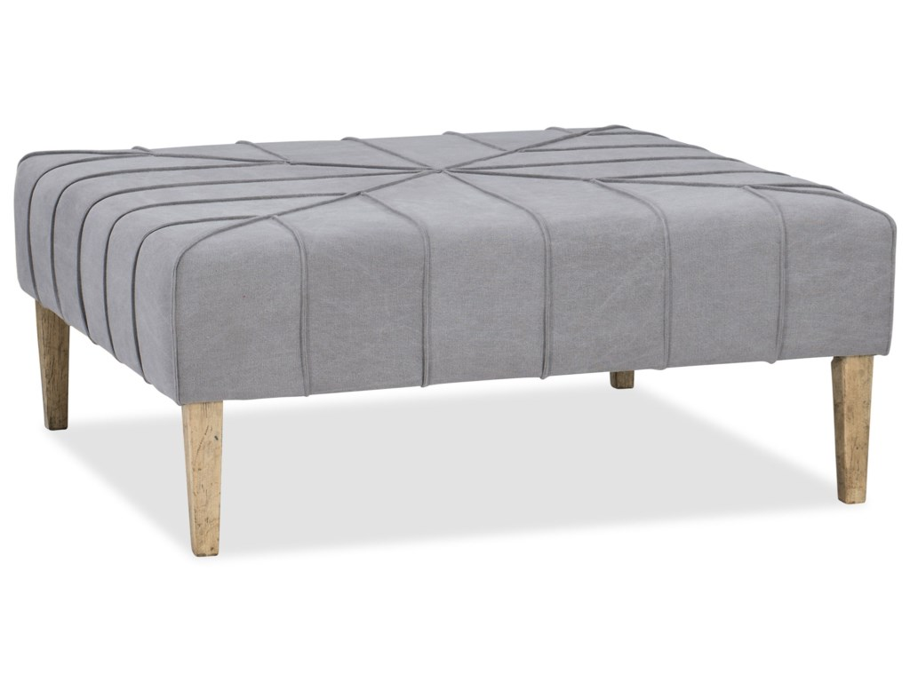 Hooker Furniture American Life-Urban ElevationSquare Ottoman/Cocktail Table