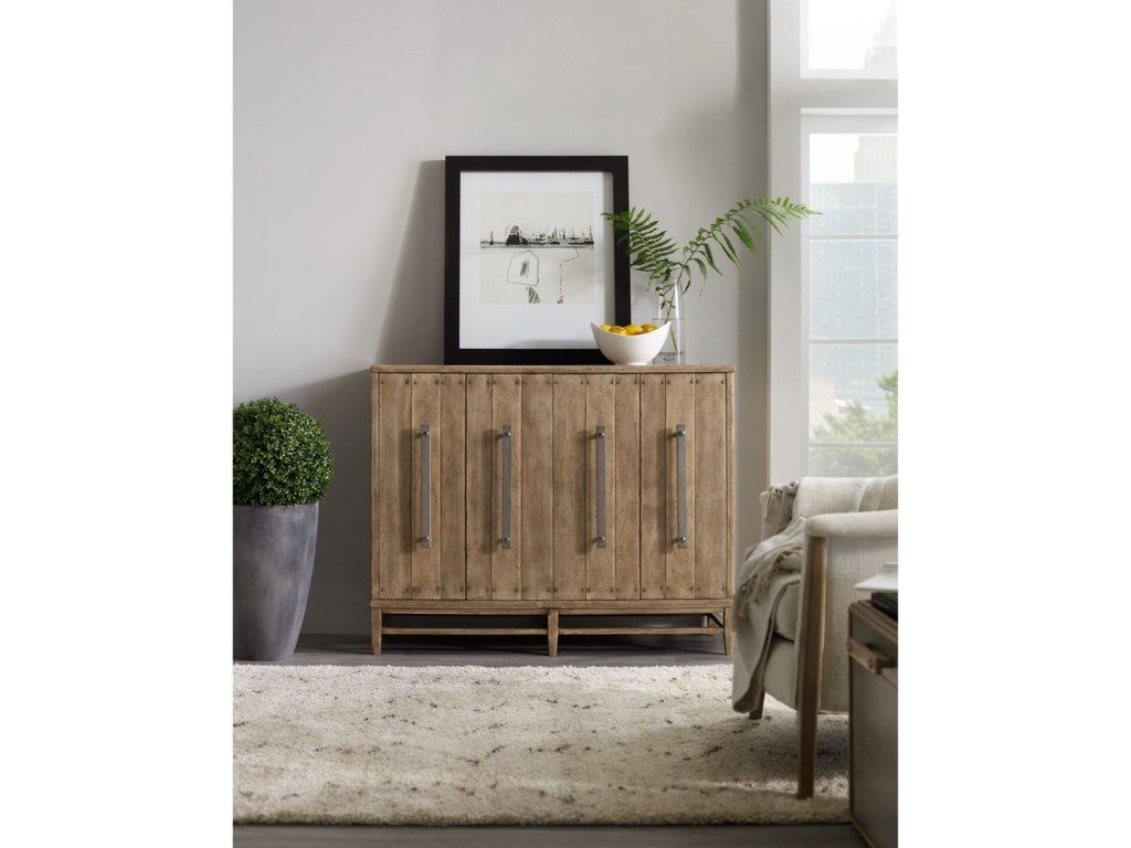 Hooker Furniture American Life-Urban ElevationFour-Door Credenza