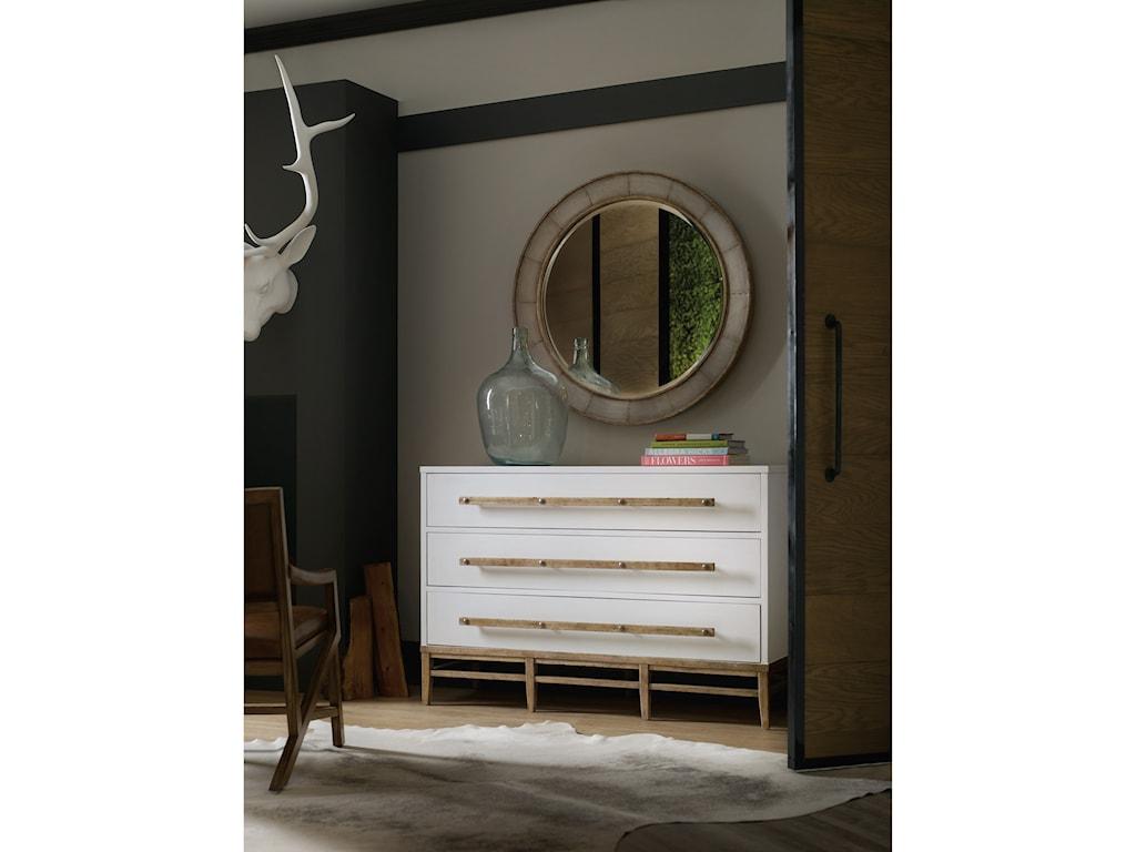 Hooker Furniture American Life-Urban ElevationRound Mirror